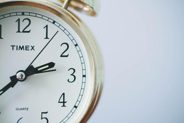 Round Timex Analog Clock